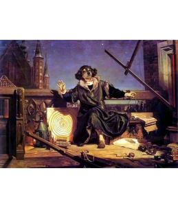 Miś Kuleczka jako Kopernik
