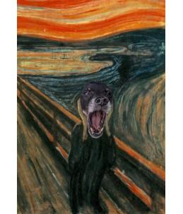 "Toffiś (Edvard Munch ""Krzyk"")"
